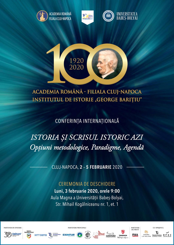 Conferinta Internationala 3-5 februarie 2020
